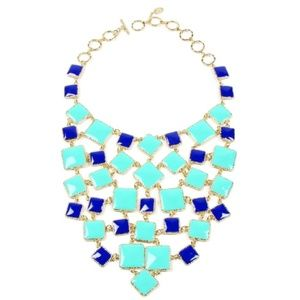 NWT! Amrita Singh Colorblock Bib Necklace